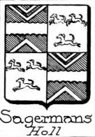 Sagermans Coat of Arms / Family Crest 0