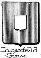 Tagerfeld Coat of Arms / Family Crest 0