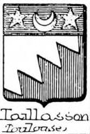Taillasson Coat of Arms / Family Crest 0