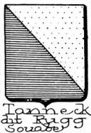 Tanneck Coat of Arms / Family Crest 2