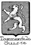 Tannenfels Coat of Arms / Family Crest 1