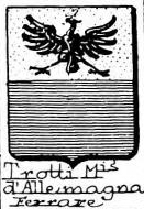 Trotti Coat of Arms / Family Crest 3