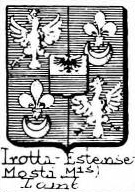 Trotti Coat of Arms / Family Crest 5