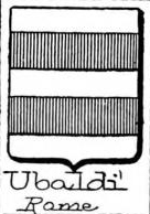 Ubaldi Coat of Arms / Family Crest 1