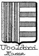 Ubaldini Coat of Arms / Family Crest 4