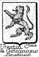 Ubertin Coat of Arms / Family Crest 1