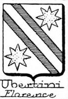 Ubertini Coat of Arms / Family Crest 1