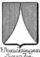 Ubrichingen Coat of Arms / Family Crest 0