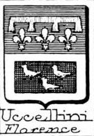 Uccellini Coat of Arms / Family Crest 0