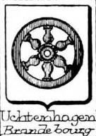 Uchtenhagen Coat of Arms / Family Crest 1