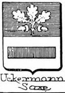 Uckermann Coat of Arms / Family Crest 2