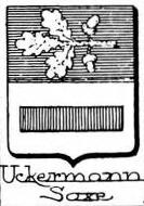 Uckermann Coat of Arms / Family Crest 3
