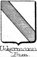 Uckermann Coat of Arms / Family Crest 1