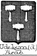 Udekem Coat of Arms / Family Crest 1