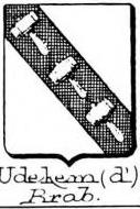Udekem Coat of Arms / Family Crest 0