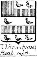 Uden Coat of Arms / Family Crest 0
