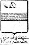 Udesheim Coat of Arms / Family Crest 0