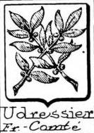 Udressier Coat of Arms / Family Crest 0