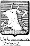 Ueberrein Coat of Arms / Family Crest 0