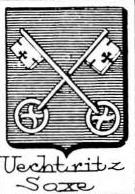 Uechtritz Coat of Arms / Family Crest 3