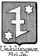 Uehlinger Coat of Arms / Family Crest 0