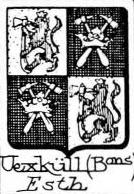 Uexkull Coat of Arms / Family Crest 3