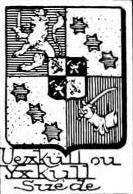 Uexkull Coat of Arms / Family Crest 4