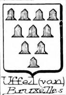 Uffel Coat of Arms / Family Crest 1