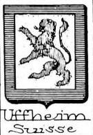 Uffheim Coat of Arms / Family Crest 0