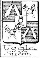 Uggla Coat of Arms / Family Crest 1