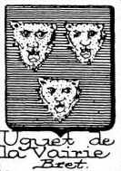 Uguet Coat of Arms / Family Crest 1