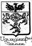 Ugurgieri Coat of Arms / Family Crest 1