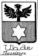 Uhde Coat of Arms / Family Crest 0