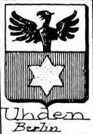 Uhden Coat of Arms / Family Crest 0