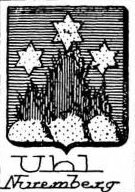 Uhl Coat of Arms / Family Crest 0