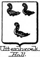 Uitenbroek Coat of Arms / Family Crest 1