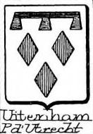 Uitenham Coat of Arms / Family Crest 0