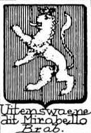 Uitenswaene Coat of Arms / Family Crest 0