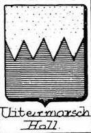 Uitermarsch Coat of Arms / Family Crest 0