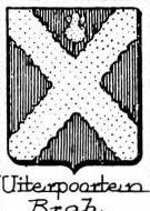 Uiterpoorten Coat of Arms / Family Crest 0