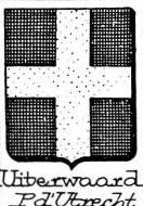 Uiterwaard Coat of Arms / Family Crest 1
