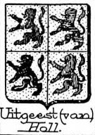 Uitgeest Coat of Arms / Family Crest 0