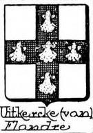 Uitkercke Coat of Arms / Family Crest 0