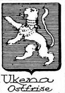 Ukena Coat of Arms / Family Crest 0