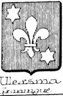 Ulersma Coat of Arms / Family Crest 0
