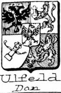 Ulfeld Coat of Arms / Family Crest 1
