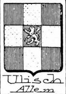 Ulisch Coat of Arms / Family Crest 0