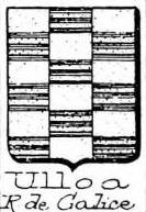 Ulloa Coat of Arms / Family Crest 4