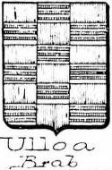 Ulloa Coat of Arms / Family Crest 5