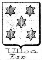 Ulloa Coat of Arms / Family Crest 3